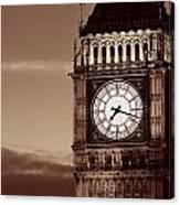 Big Ben Closeup Canvas Print