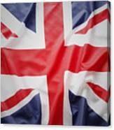 British Flag 23 Canvas Print