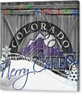 Colorado Rockies Canvas Print