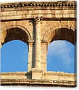 Colosseum In Rome Canvas Print