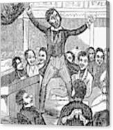 Davy Crockett (1786-1836) Canvas Print