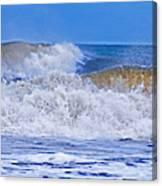Hurricane Storm Waves Canvas Print