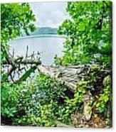 Lake Santeetlah In Great Smoky Mountains North Carolina Canvas Print