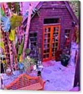 Malibu Cottage Canvas Print