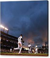 New York Mets V Colorado Rockies Canvas Print
