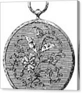 Pocket Watch, 19th Century Canvas Print