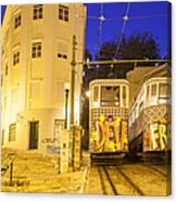 The Lavra Funicular Canvas Print