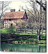 1600's English Home Canvas Print