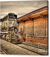 Locomotive 1637 Norfork Southern Canvas Print