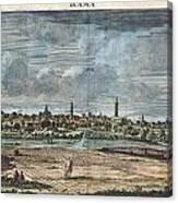 1698 De Bruijin View Of Rama Israel Palestine Holy Land Canvas Print