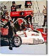 Automobile Racing Canvas Print