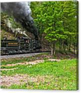 Cass Scenic Railroad Canvas Print