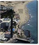 Fly Over Gran Canaria Canvas Print