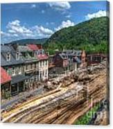 Hdr - Harpers Ferry Canvas Print