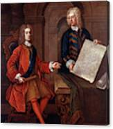 John Churchill (1650-1722) Canvas Print