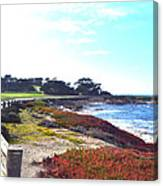 17 Mile Drive Shore Line II Canvas Print
