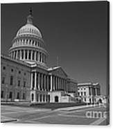 Us Capitol Building Canvas Print