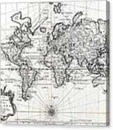 1748 antique world map versuch von einer kurzgefassten karte 1748 antique world map versuch von einer kurzgefassten karte canvas print gumiabroncs Gallery