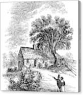 Daniel Webster (1782-1852) Canvas Print