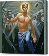 18. Jesus Rises / From The Passion Of Christ - A Gay Vision Canvas Print