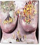 18. Judy Robkin, Artist, 2015 Canvas Print