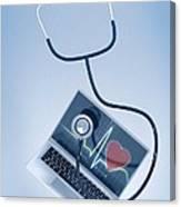 Telemedicine, Conceptual Image Canvas Print
