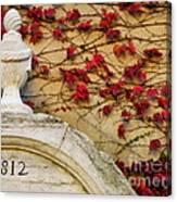 1812 Fountain Canvas Print
