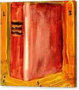 1830 Book Of Mormon 1st Edition Canvas Print