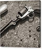 1851 Navy Revolver 36 Caliber - 2 Canvas Print
