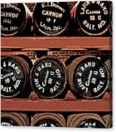 1861 Civil War Cannon Powder Magazine Canvas Print