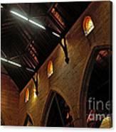 1865 - St. Jude's Church  - Interior 2 Canvas Print