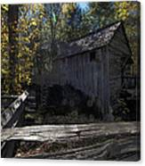 1868 Cable Mill At Cades Cove Tennessee Canvas Print