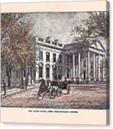 1870's White House Canvas Print