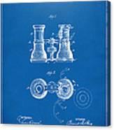 1882 Opera Glass Patent Artwork - Blueprint Canvas Print