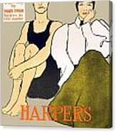 1897 - Harpers Magazine Poster - Color Canvas Print