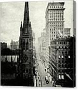 1898 Broadway New York City Canvas Print