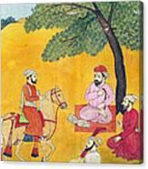 18th Century Picnic  Canvas Print