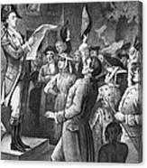 Yorktown: Surrender, 1781 Canvas Print