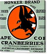 1900 Honker Cranberries Canvas Print