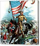 1902 Rough Rider Teddy Roosevelt Canvas Print