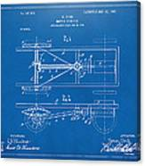 1903 Henry Ford Model T Patent Blueprint Canvas Print