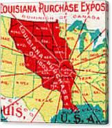 1904 Louisiana Purchase Exposition Canvas Print