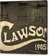 1905 Restaurant  Canvas Print