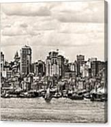 1906 Manhattan Panorama Canvas Print