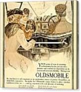 1909 - Oldsmobile Advertisement - Color Canvas Print