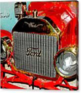 1909 Ford Digital Art Canvas Print