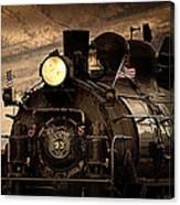 1909 Steam Engine 1909 Canvas Print