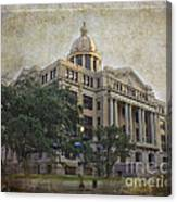 1910 Harris County Courthouse  Canvas Print