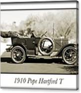 1910 Pope Hartford T Canvas Print