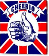 1910 Union Jack Cheerio Canvas Print